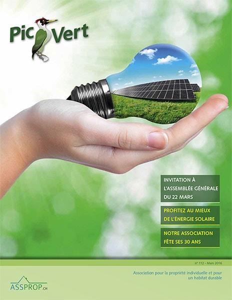 Couverture du journal Pic Vert 112